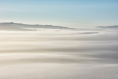 Above the fog - Napa, California